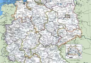 Map Of Ireland Cities and towns Map Of Germany with Cities and towns Traveling On In 2019