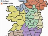 Map Of Ireland County Clare Map Of Ireland Compliments Celtic tours Maps Ancient and
