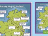Map Of Ireland for Primary School 3rd 4th Class Famous Irish People Primary Resources Roi Resourc