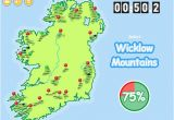 Map Of Ireland Mountains and Rivers Know Your Ireland