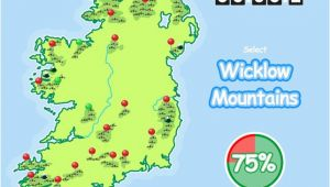 Map Of Ireland Mountains Know Your Ireland