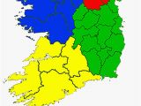 Map Of Ireland Provinces Counties Of the Republic Of Ireland