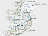 Map Of Ireland Showing Kilkenny Historic Environment Viewer Help Document