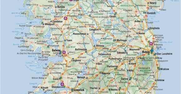 Map Of Ireland tourist attractions Most Popular tourist attractions In Ireland Free Paid attractions