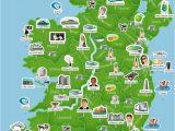 Map Of Ireland with Cities Map Of Ireland Ireland Trip to Ireland In 2019 Ireland Map