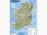 Map Of Ireland with Cities Maps Of Ireland Detailed Map Of Ireland In English tourist Map