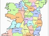 Map Of Ireland with Counties and Cities Map Of Counties In Ireland This County Map Of Ireland Shows All 32