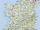 Map Of Ireland with Counties and Cities Most Popular tourist attractions In Ireland Free Paid attractions