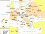 Map Of Ireland with Major Cities Map Europe Major Cities Pergoladach Co