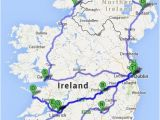 Map Of Ireland with tourist attractions the Ultimate Irish Road Trip Guide How to See Ireland In 12