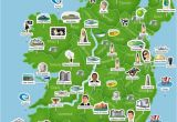 Map Of Ireland with towns and Counties Map Of Ireland Ireland Trip to Ireland In 2019 Ireland