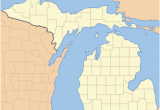 Map Of isabella County Michigan List Of Counties In Michigan Wikipedia