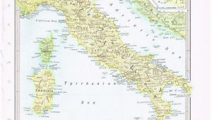 Map Of Italy 1800 1960 Vintage Map Italy by Knickoftime World Maps Vintage Maps