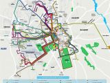Map Of Italy and Airports Local Bus Routes Lines Stops Public Transport Alsa Network System