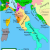 Map Of Italy and France with Cities Italian War Of 1494 1498 Wikipedia