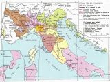 Map Of Italy before Unification Historical Maps Of Italy