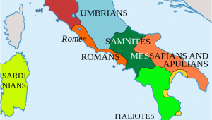 Map Of Italy In Roman Times Italy In 400 Bc Roman Maps Italy History Roman Empire Italy Map