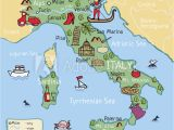 Map Of Italy Major Cities Fotografie Obraz Cartoon Vector Map Of Italy for Kids Posters Cz
