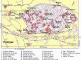 Map Of Italy Pompeii Map Of Pompei Pompeji Und Heraklium Pompeji Antike Und Italien