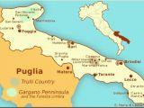 Map Of Italy Puglia Hak Van De Laars Puglia