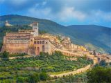 Map Of Italy Showing assisi Umbria Italy Best Hill towns and Places to Go