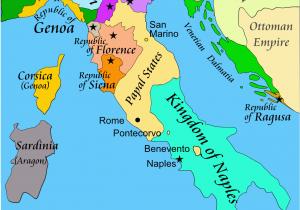 Map Of Italy States Italian War Of 1494 1498 Wikipedia