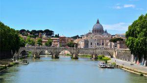Map Of Italy Tiber River Tiber Wikipedia