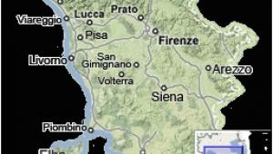 Map Of Italy Tuscany with Cities Tuscany Map Map Of Tuscany Italy