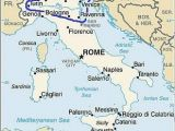 Map Of Italy with Cities and towns Italy Climate Average Weather Temperature Precipitation Best Time