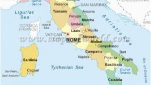 Map Of Italy with Regions and Cities Maps Of Italy Political Physical Location Outline thematic and