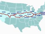 Map Of Kansas and Colorado Possible Route to Go Through West Virginia Kentucky Missouri