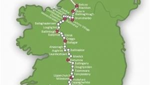 Map Of Kilkenny Ireland Map Of the 900km Ireland Way Hiking Trail Guidebook Available In