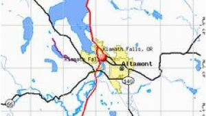 Map Of Klamath Falls oregon Pinterest