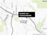 Map Of La Canada Ca 12 Year Old Boy Confesses to Detectives Claim Of Abduction