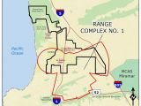 Map Of La Jolla California Ucsd Camp Matthews Range Complex No 1