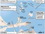 Map Of Lake Erie Ohio Getting to the Lake Erie islands Via Aaron toledo Blade Ohio