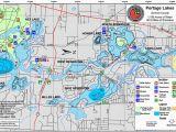 Map Of Lake Erie Ohio Portage Lakes