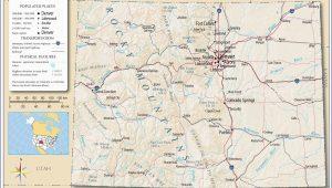 Map Of Lakes In Colorado Colorado Lakes Map Awesome Colorado Highway Map Etiforum Ny County Map