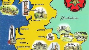 Map Of Lancashire England Lancashire Map Sent to Me by Gordon Of northern Ireland