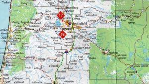 Map Of Lane County oregon Map Of Eugene oregon Secretmuseum