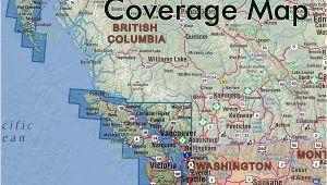 Map Of Langley Bc Canada Vancouver island Haida Gwaii Sw Bc Nw Washington Road atlas 1125