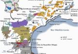 Map Of Languedoc Region France La Carte Des Vins Du Languedoc Roussillon Vins En 2019