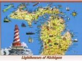 Map Of Lighthouses In Michigan 2109 Best Lighthouse north America Images On Pinterest In 2018