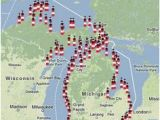 Map Of Lighthouses In Michigan 60 Best New Presque isle Lighthouse Images On Pinterest