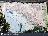 Map Of Ligurian Coast Italy Italian Riviera Map Stock Photos Italian Riviera Map Stock Images