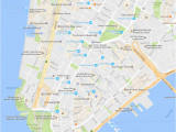Map Of Little Italy Nyc Financial District Neighborhood New York City Map