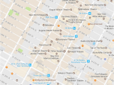 Map Of Little Italy Nyc New York City Times Square Neighborhood Map