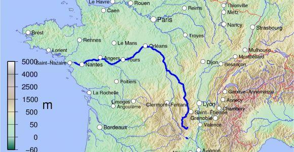 Map Of Loire Valley France Loire Wikipedia