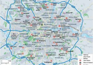 Map Of London England and Surrounding area Pin by Hannah Jones On Maps and Geography London Map London City Map