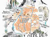 Map Of Lourdes France Prep French Prepfrench On Pinterest
